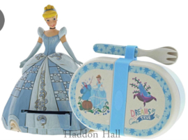"CINDERELLA ""Treasure Keeper""+ Snack Box  H16,5cm Jim Shore A29506"