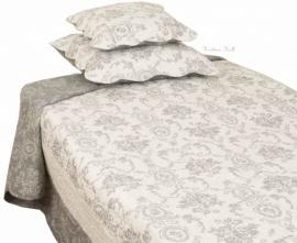 Q130 Clayre & Eef Bedsprei 180 x 260 cm Quilt Patchwork-style