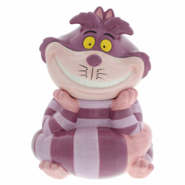 Cheshire Cat Cookie Jar H25cm Disney Ceramics A30161
