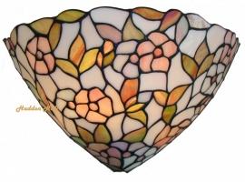 Wandlamp Tiffany  B33cm Schelpmodel   9317