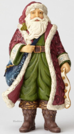 """VIctorian Santa in Boots"" H25,5cm Jim Shore 6001426"
