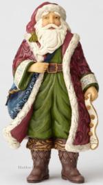 """VIctorian Santa in Boots"" H25,5cm Jim Shore 6001426"