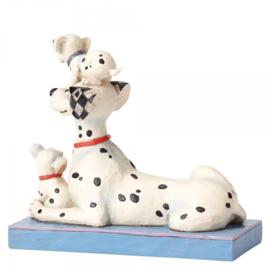 101 Dalmatians Pongo, Penny, Rolly H 16cm Puppy Love Jim Shore 4054278