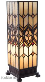 5881 Tafellamp Tiffany H35cm Miniwindlicht Lancaster