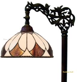 74318 9458 Vloerlamp H164cm met Tiffany kap Ø30cm Aragon