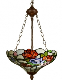 5766-8842 Hanglamp Tiffany Ø40cm  Rosa