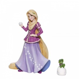 RAPUNZEL & Pascal Holiday Figurine H21cm Disney Showcase 6006275