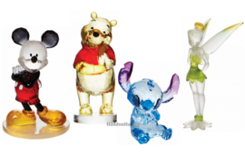 Set van 4 DIsney Facet Figurines H9cm