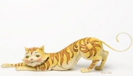 Tabitha  Stretching tabby cat B25cm Jim Shore 4037657