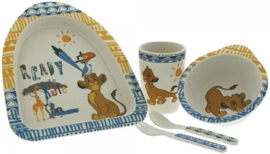 The Lion King Bamboo Dinner Set