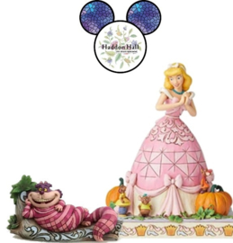Event Pieces - Cheshire Cat & Cinderella with Mice- Jim Shore