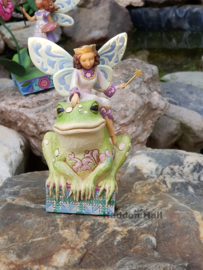 Have You Kissed a Frog Today?  H 13cm Jim Shore  4014980  uit 2009