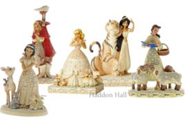 Set van 5 White Woodland Prinsessen Jim Shore