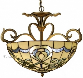 9272G H55 Hanglamp Tiffany Ø56cm Blueribbon