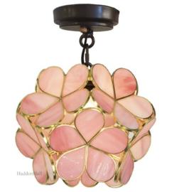 6065 Plafonniere - Hanglamp Ø21cm Flower Pink
