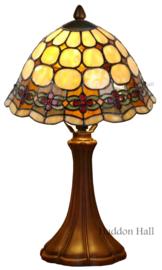 8828 5135 Tafellamp Tiffany H41cm Ø25cm Victoria