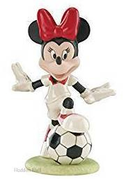 "Minnie ""Soccer Star"" H13cm Disney by Lenox 840537"