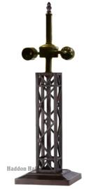 T4 Voet voor tafellamp H55cm Serpentines