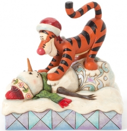 """TIGGER """"Pouncin' is what Tiggers Do Best"""" H13cm 4039044"""