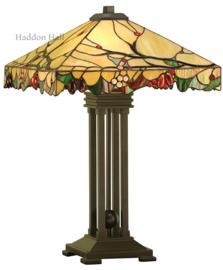 T061 Tafellamp Tiffany H66cm 42x42cm Arbois
