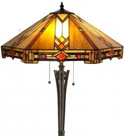 5423 TG08FB Vloerlamp Tiffany H158 Ø57cm Durban