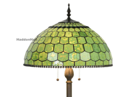 6042 Vloerlamp H165cm met Tiffany kap Ø51cm Green Wall