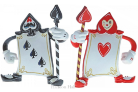 Card Guards Set van 2 H13cm