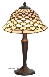 505 5973 Tafellamp Tiffany H40cm Ø25cm Victoria