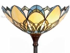 5320 Vloerlamp H180cm met Tiffany kap Ø40cm Alphonse