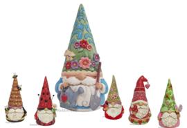 Garden Gnomes - Set van 6 Jim Shore beelden