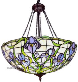 6114 Hanglamp Tiffany Ø56cm Purple Orchid