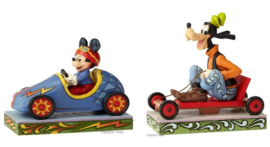 Goofy & Mickey Set van 2 Jim Shore Disney