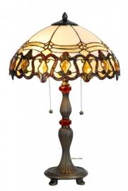 5521 Tafellamp Tiffany H62cm Ø39cm Guirlande