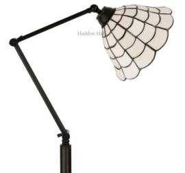 5935 Vloerlamp H165 met Tiffany kap Ø25cm Art Deco Paris