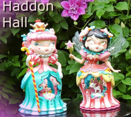 Set van 2 Miss Mindy figurines H26cm Candy Queen en Forest Fairy