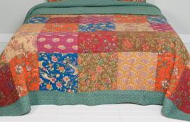 Q149 Clayre & Eef Bedsprei 230 x 260 cm Quilt Patchwork beddesprei