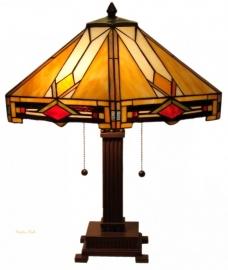 5314 Tafellamp Tiffany H53cm Ø48cm Durban