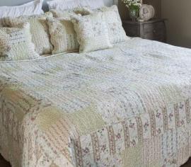 Q134 Clayre & Eef Bedsprei 140 x 220 cm Quilt Patchwork-style