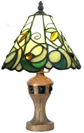 T9520 Tafellamp Tiffany H33cm Ø20cm Jamelia
