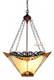 5595 8834 Hanglamp Tiffany 44x44cm  Amber