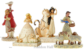 Set van 4 White Woodland Prinsessen Jim Shore