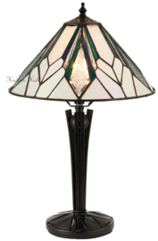 T026S Tafellamp Tiffany H44cm Ø30cm Astoria