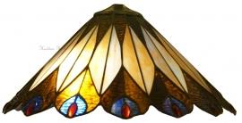 5773 Kap Tiffany Ø40cm Peacock