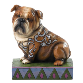"""""""Hogan"""" Engelse Bulldog H10,5cm Jim Shore"""