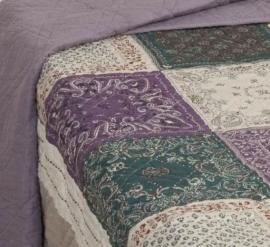 Q110 Clayre & Eef Bedsprei 300 x 260 cm Quilt Patchwork