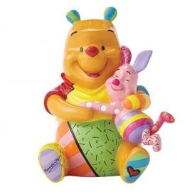 Winnie The Pooh & Piglet H 16cm Disney by Britto  4055231