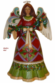 Glorious Garland Engel H25cm Jim Shore Angel 4023457 Heartwood Creek