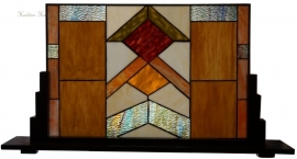 5775 Voorzetraam Tiffany op voet 82x45cm Durban