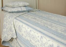 Q009 Clayre & Eef Bedsprei 180 x 260 cm Quilt Patchwork beddesprei