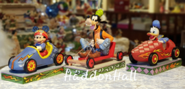 MICKEY DONALD GOOFY Set van 3 Jim Shore beelden